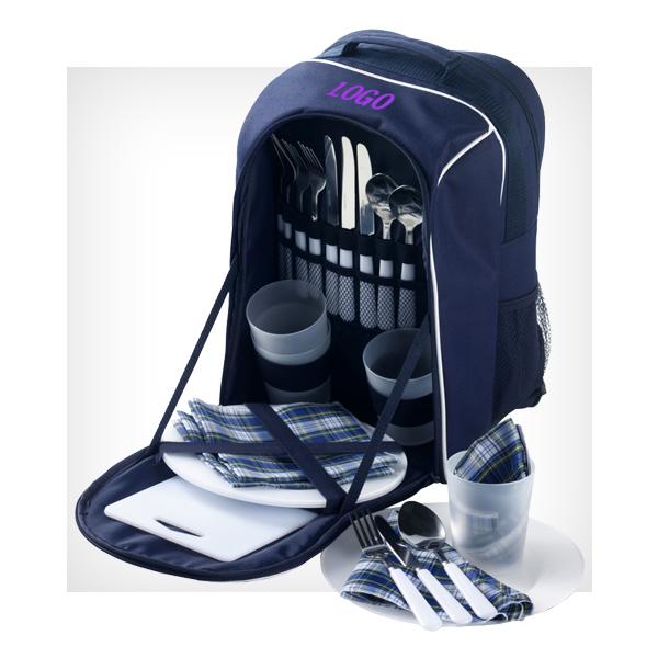 plecak piknikowy z logiem