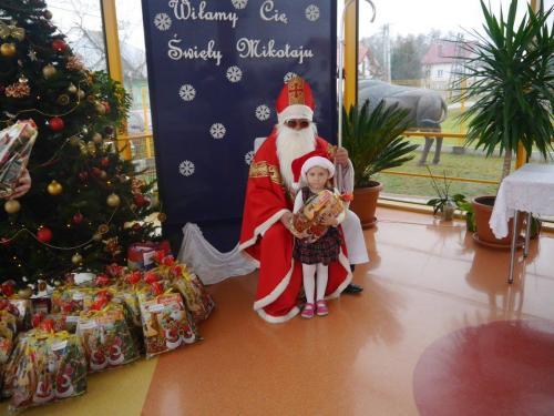Przedszkole Radgoszcz - wizyta św. Mikołaja16