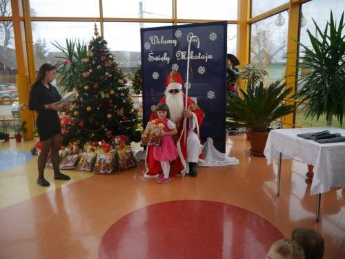 Przedszkole Radgoszcz - wizyta św. Mikołaja20