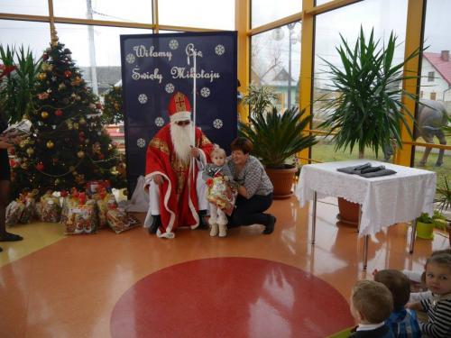 Przedszkole Radgoszcz - wizyta św. Mikołaja24