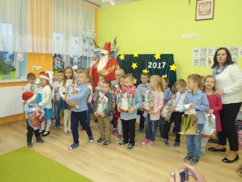 Przedszkole Radgoszcz - wizyta św. Mikołaja9