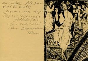 List ks. Tadeusza Fedorowicza do siostry Olgi Fedorowicz, 25.03.1991