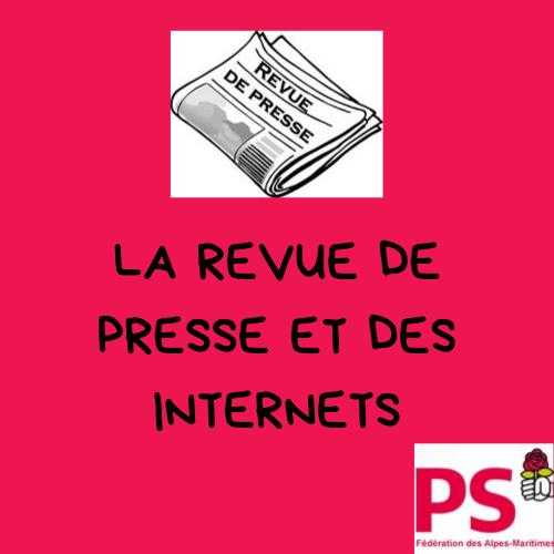 Revue de presse et des Internets du 12 janvier 2020