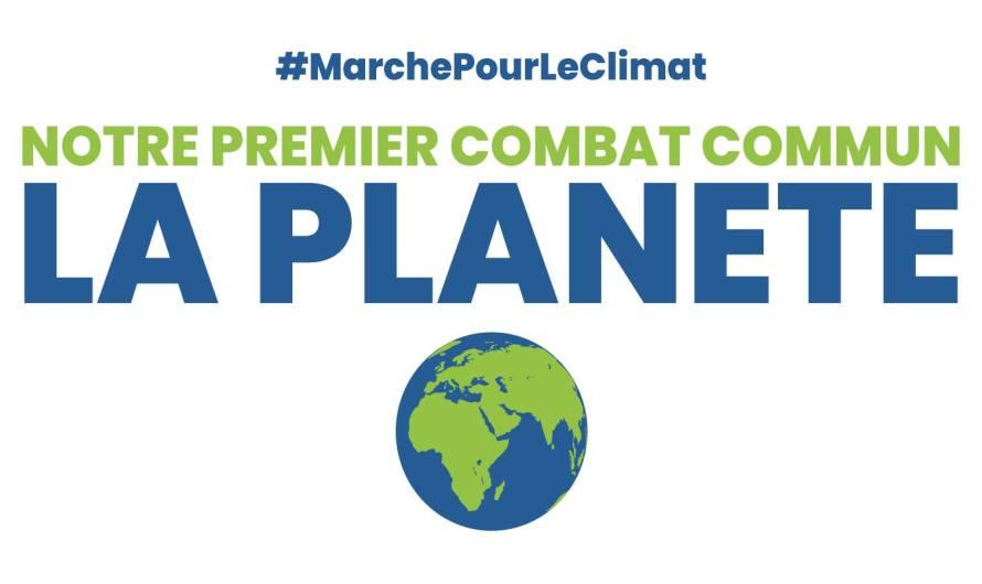 [COMMUNIQUE DE PRESSE] Marche pour le climat : parce que plus tard, il sera trop tard
