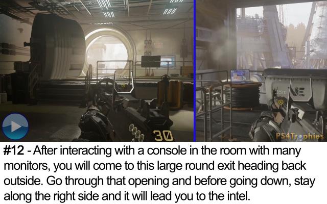 Call of Duty Advanced Warfare Collectible intel 12