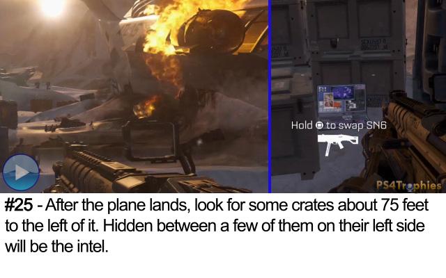 Call of Duty Advanced Warfare Collectible intel 25