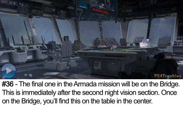 Call of Duty Advanced Warfare Collectible intel 36