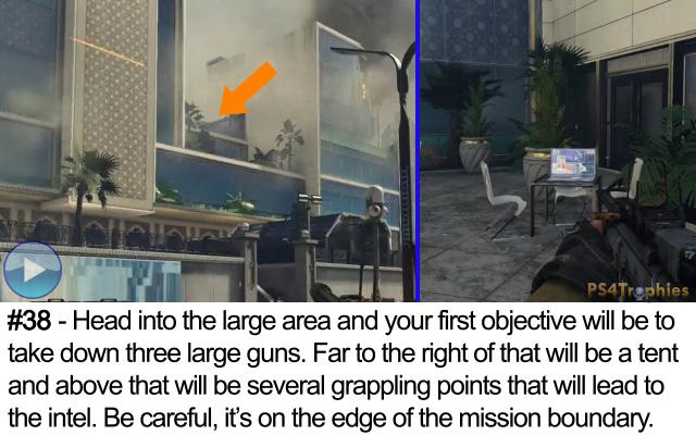 Call of Duty Advanced Warfare Collectible intel 38