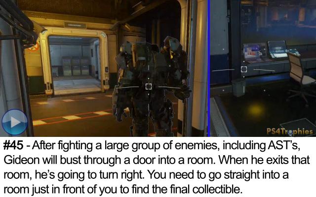 Call of Duty Advanced Warfare Collectible intel 45