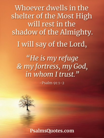 Psalm 91:1-2 - Psalm of Protection