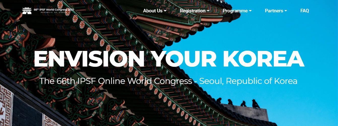 【2021 IPSF Online World Congress】