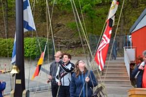 Absegelfeier bei uns am Flaggenmast und dann im VWG @ KLub Stößensee | Berlin | Berlin | Deutschland