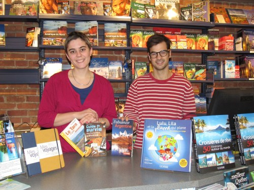 Camille & Louis-Joseph from the St-Denis branch