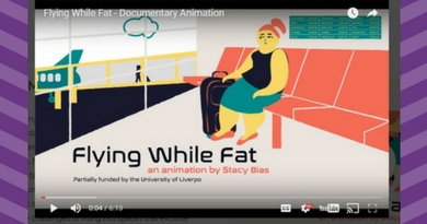 Avez-vous vu <i>« Flying While Fat »</i> ?