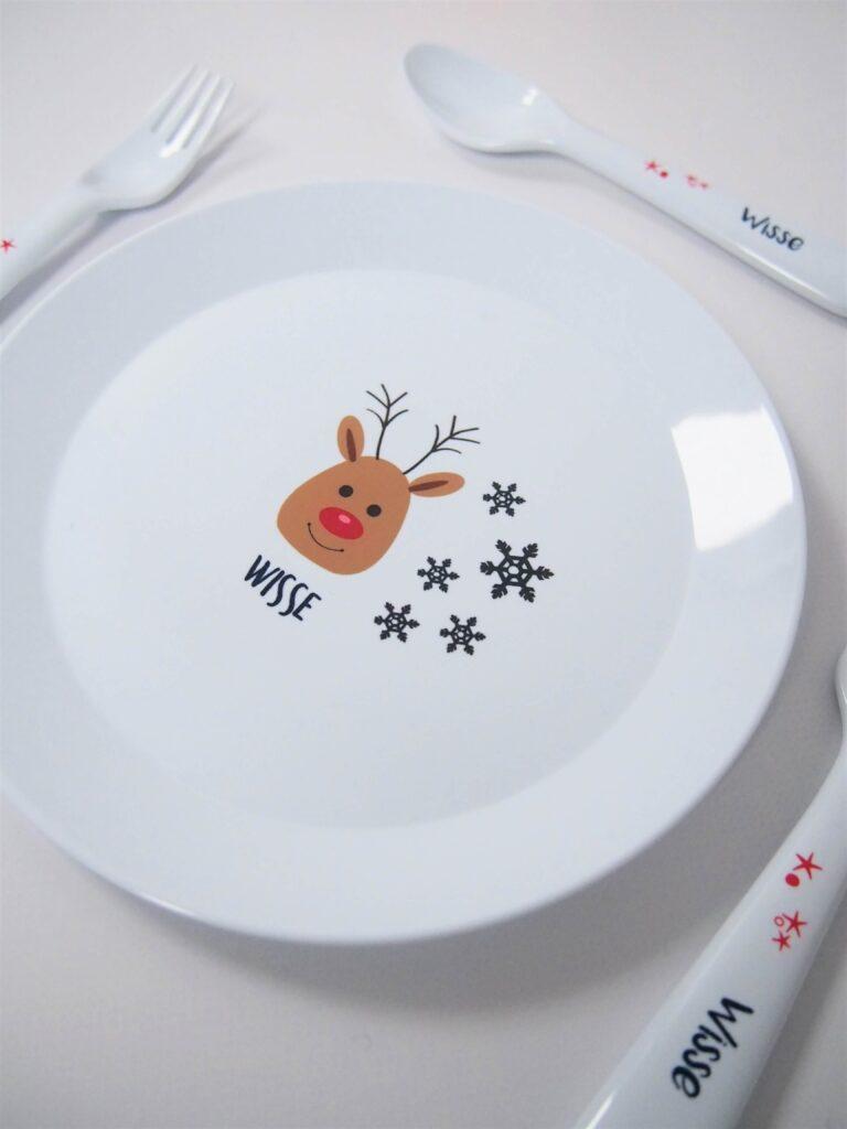 Kinderservies kerst
