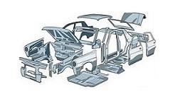 Ricambi usati carrozzeria - parti esterne
