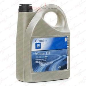 OLIO MOTORE 5L SINTETICO GM MOTOR OIL DEXOS 2 5W-30