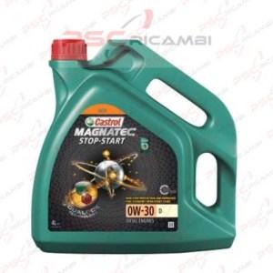 OLIO MOTORE 4L CASTROL MAGNATEC STOP START 0W-30 D