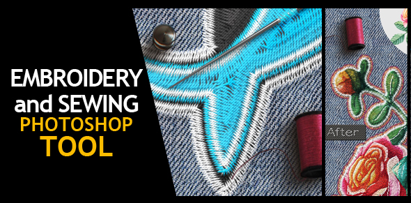 Embroidery and Stitching Photoshop Creation Kit - 11