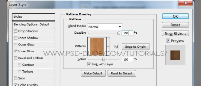 Return to the Shelf Text 1 layer and add these layer styles to create