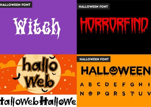 free halloween fonts # 39