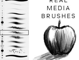 Best Photoshop Brushes For Drawing - On Log Wall