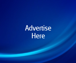 Blue Advertise Here Web Banners Pack PSDGraphics