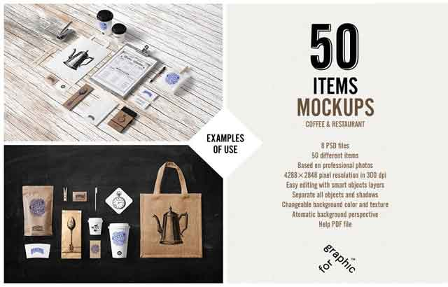 Coffee Stationery Branding Mock Up 78971 Free Download