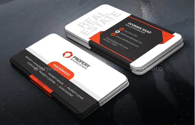 Realestate Business Card 130923 Free Download G Drive PSDLY