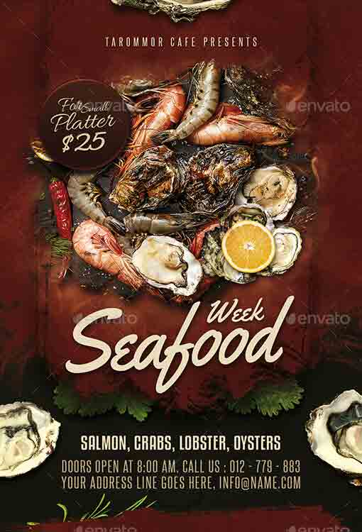 seafood-flyer-template-24092695-free-download