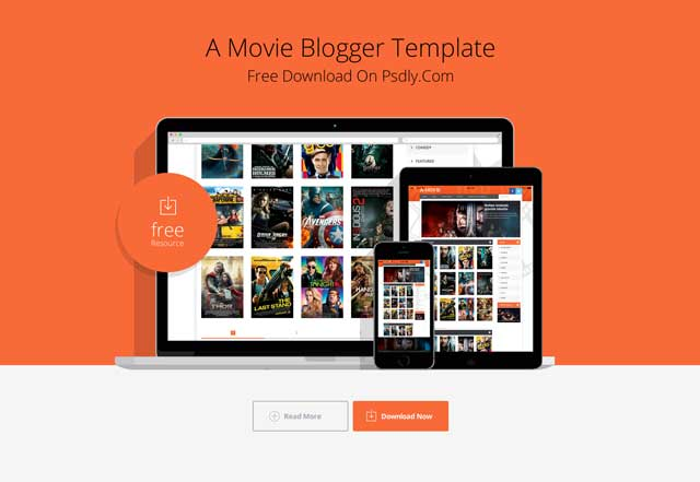 Movie Blogger Template