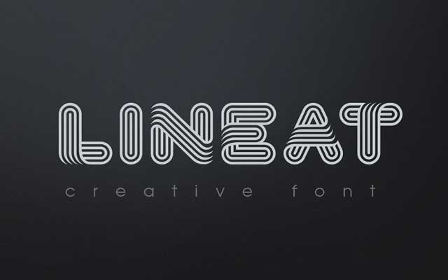 Lineat Creative font