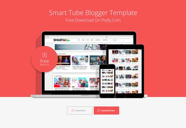 Smart-Tube Blogger Template