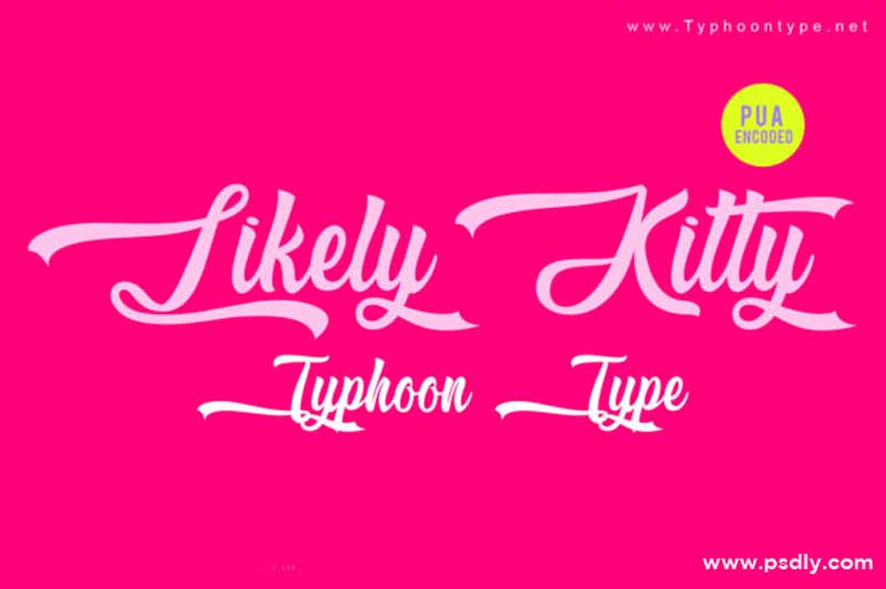 Creativefabrica - Likely Kitty Font
