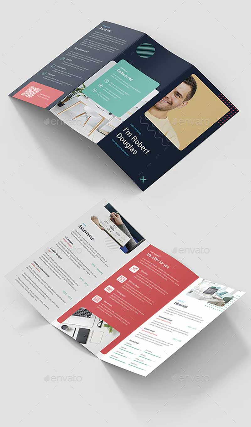 Resume – Brochures Bundle Print Templates 5 in 1
