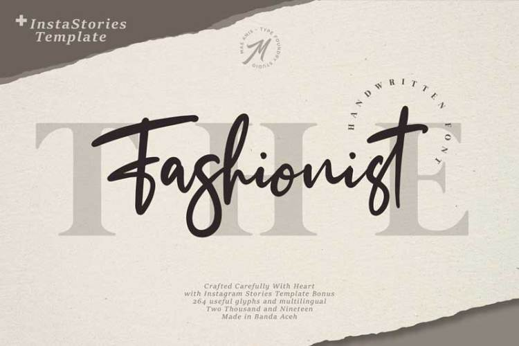 The Fashionist Extras Font
