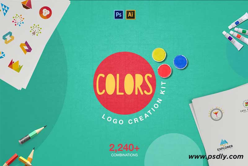 Download Colors Logo Creation Kit 1447006