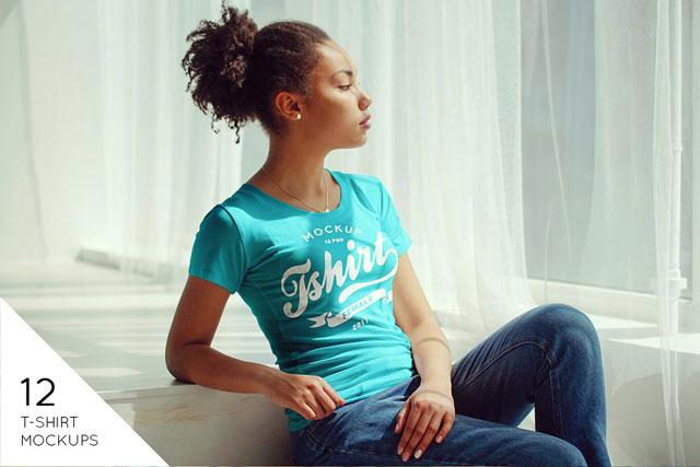 Female T-Shirt Mock-Up v2