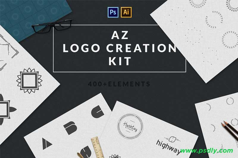 Logo Creation Kit A-Z edition 1110493