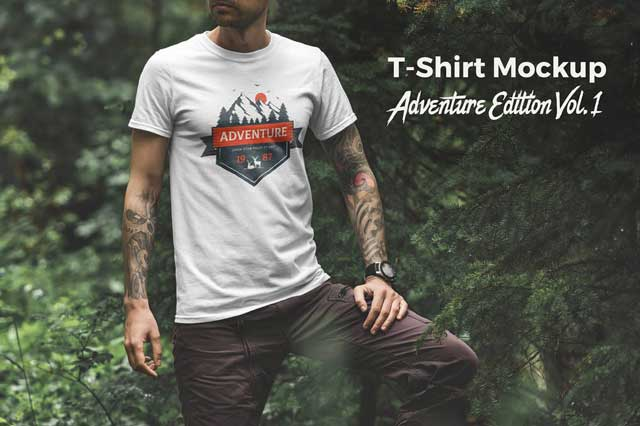 T-Shirt Mockup Adventure Edition Vol. 1