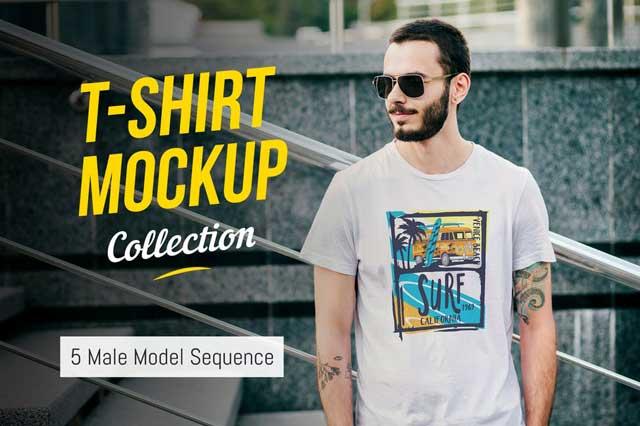 T-Shirt Mockup Collection 03