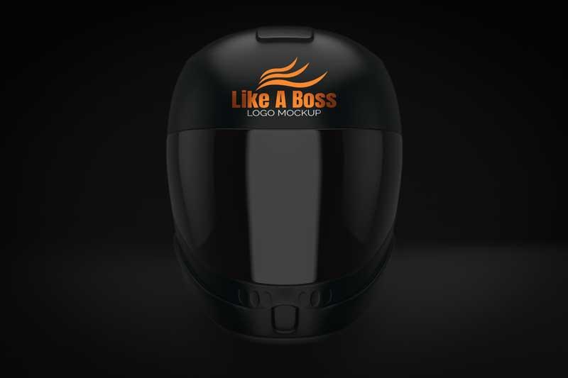 Helmet Logo Mockup