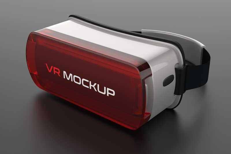 VR Logo Mockup