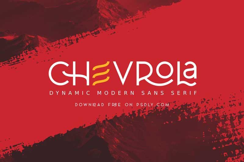 Download AL CHEVROLA Regular Font - Fontbundles