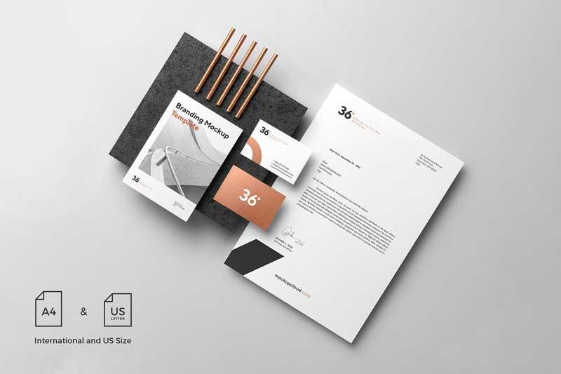 Copperstone Branding Mockup Vol. 1 download