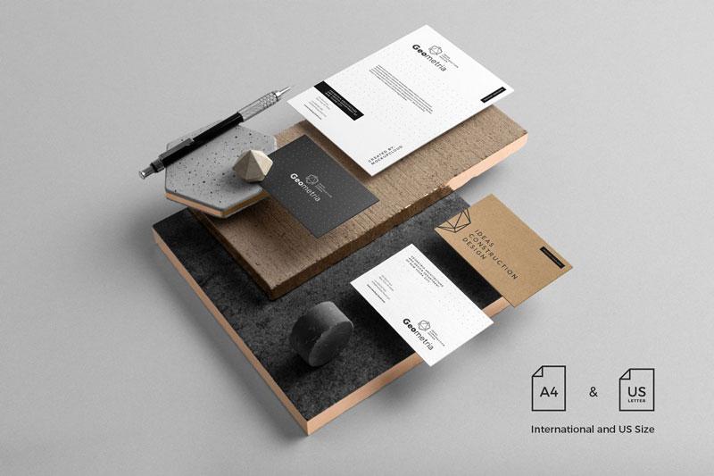 Geometria Branding Mockup 2