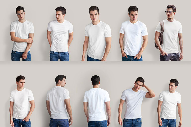 Isolated T Shirt Mock Up 6