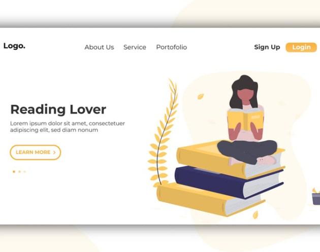 Reader Lover Banner 2526 Landing Page