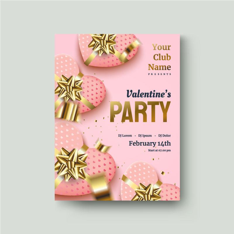 valentines day flyer 4