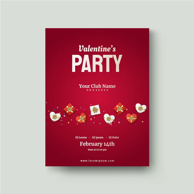 valentines day flyer 6